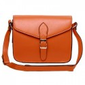 Robyn Cross Body Leather Bag Orange
